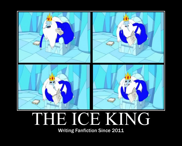 The Ice King by xDancexWaterxDancex