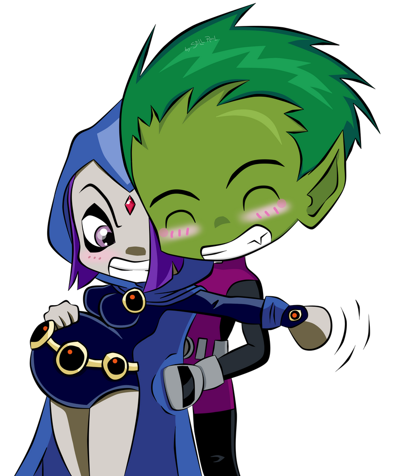 Beast Boy And Raven Have A Baby | 819 x 975 png 280kB