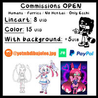 CHIBI COMMISSIONS OPEN! by LowRankRaccoon969