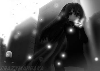 Walking Alone by Nanohanan