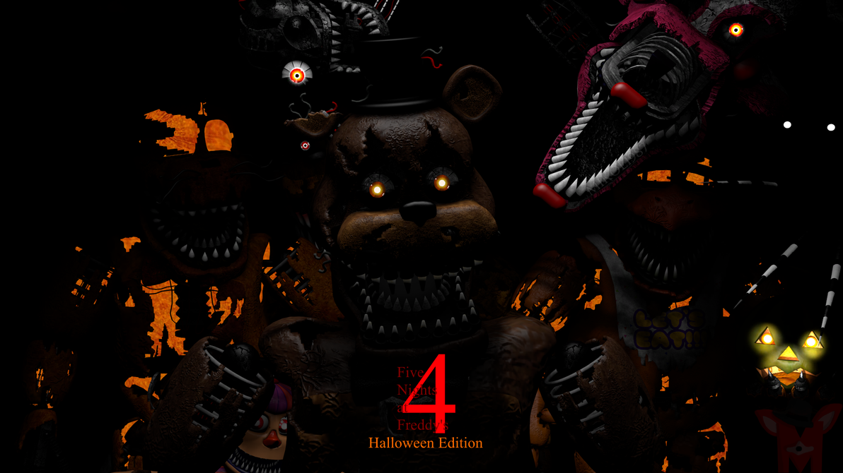 FNaF SFM: Five Nights At Freddy's 4 Halloween by Mikol1987 on ...