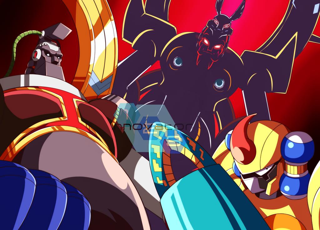 [Análise Retro Game] - Mega Man X3 - SNES/Saturn/Playstation Godkarmachine_o_inary_by_innovator123-d9brcel