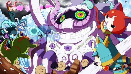 Commission: Youkai Watch by innovator123