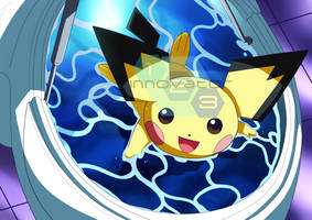 Commission: Pichu by innovator123