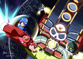 Wily Star (Megaman V AKA Rockman World 5) by innovator123