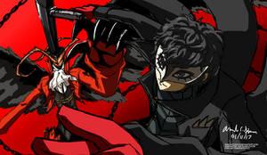Persona 5 - Joker/ Arsene (WIP)