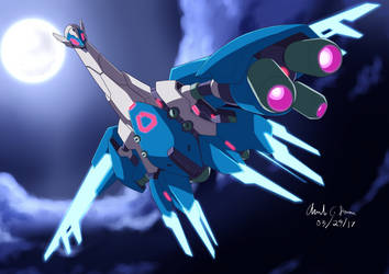 Commission: Mecha Latios by innovator123