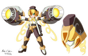Commission: Megaman Model Mami by innovator123