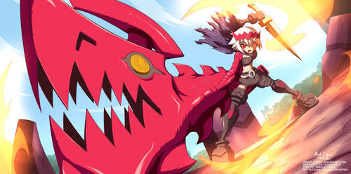 The Empress (Dragon Marked for Death) by innovator123