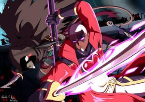 Commission: King vs The Nezumi Assassin