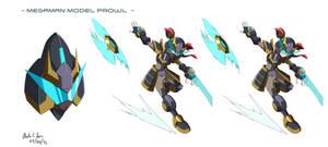 Commission: Megaman Model Prowl