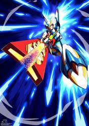 Rockman X DiVE: Falcon Armor + Falcon Ballista