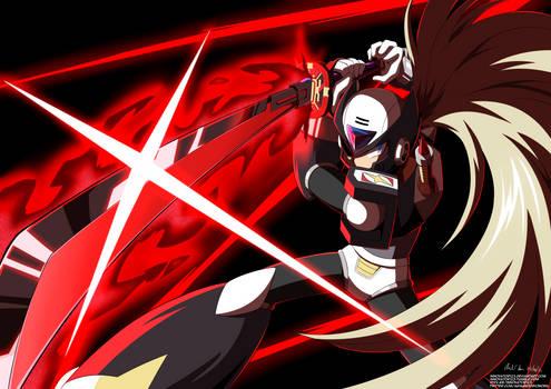 Rockman X DiVE: Black Zero + Demon Blade Muramasa