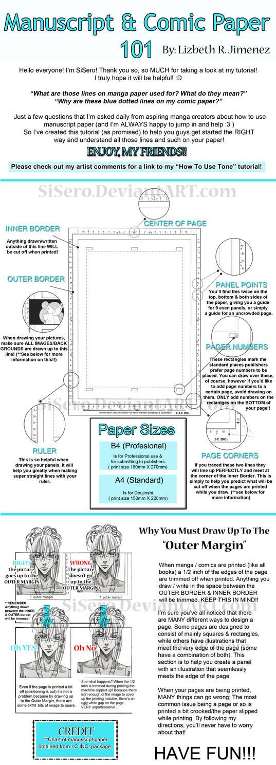 Manuscript and Comic Paper 101 by SiSero