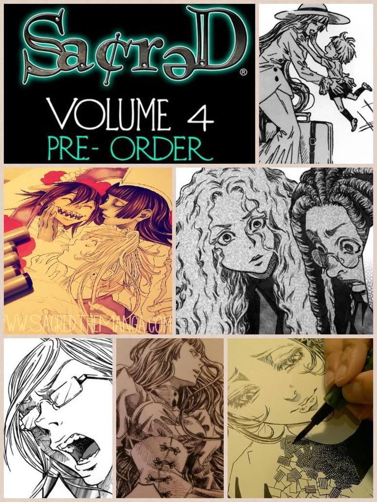 PRE-ORDER SACRED, vol. 4!! by SiSero