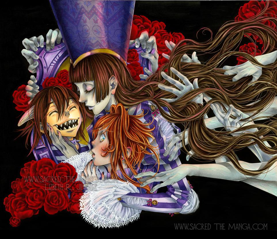 SACRED vol. 4 Cover Art by SiSero