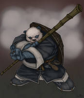 Pandaren Brewmaster by drucpec
