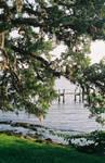 Landscape, natural overhang