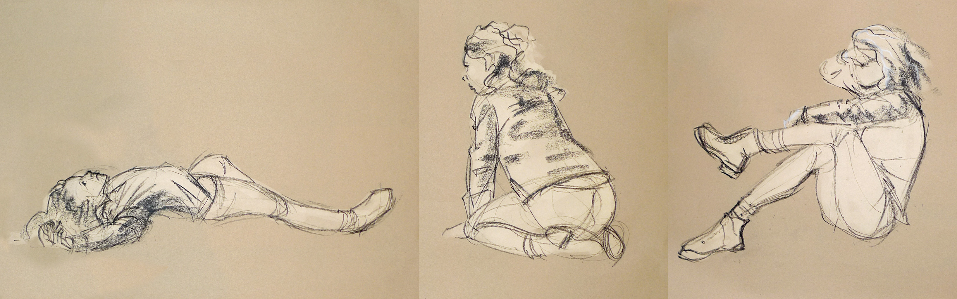 Life drawing - October 2017 by Gizmoatwork