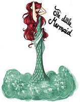 FAIRY TALE GIRLS PROJECT: The little Mermaid by WeleScarlett