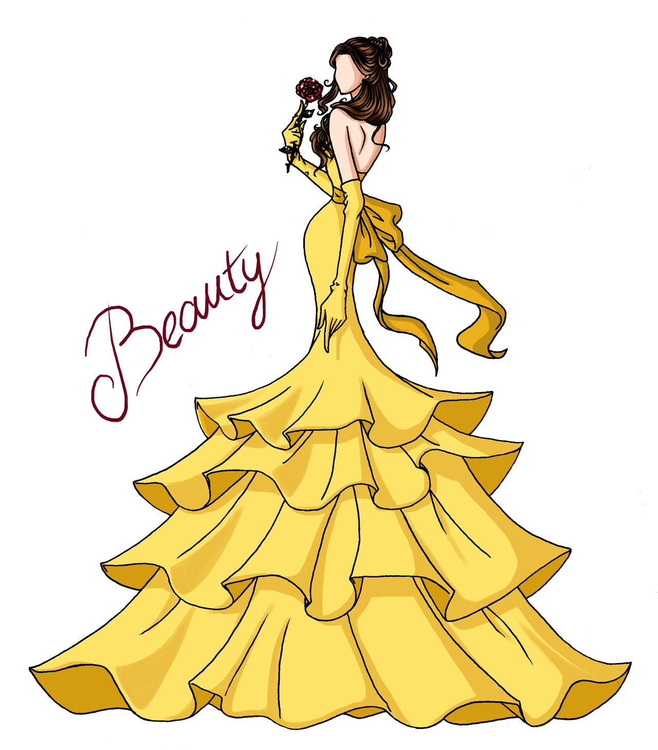 FAIRY TALE GIRLS PROJECT Beauty By WeleScarlett
