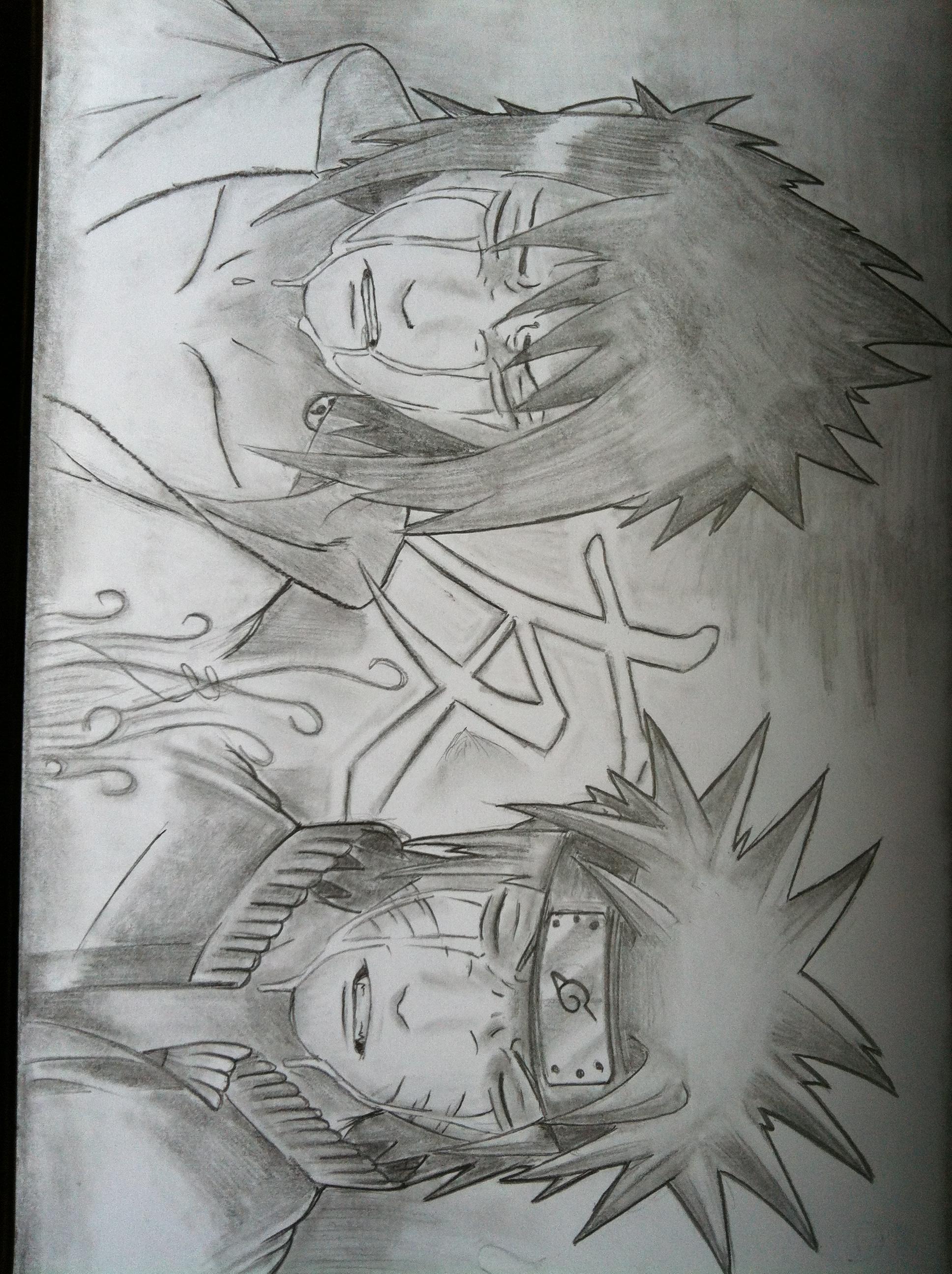 naruto and sasuke sadness by GraficFX on DeviantArt Naruto And Sasuke Sad