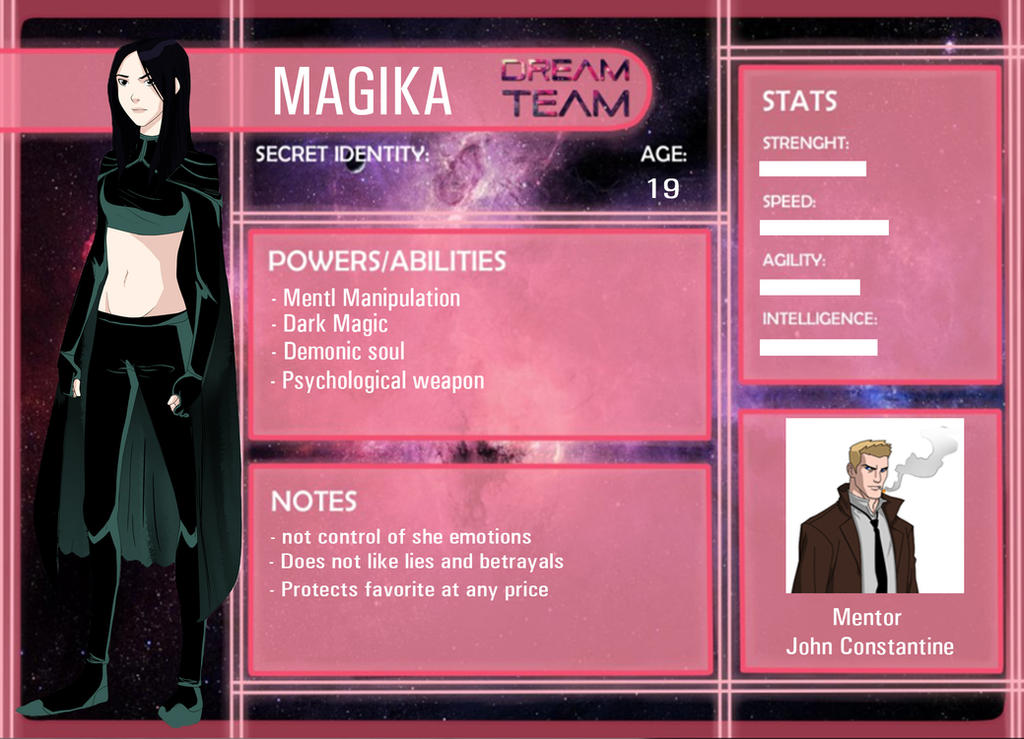 DT:Magika by ConstanceCormac