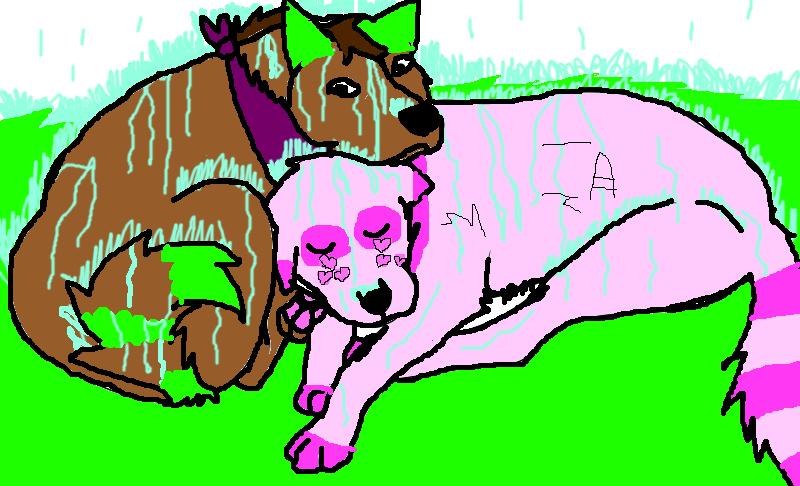Art trade Nakkikiska:Help me! by Kihomi-doglover