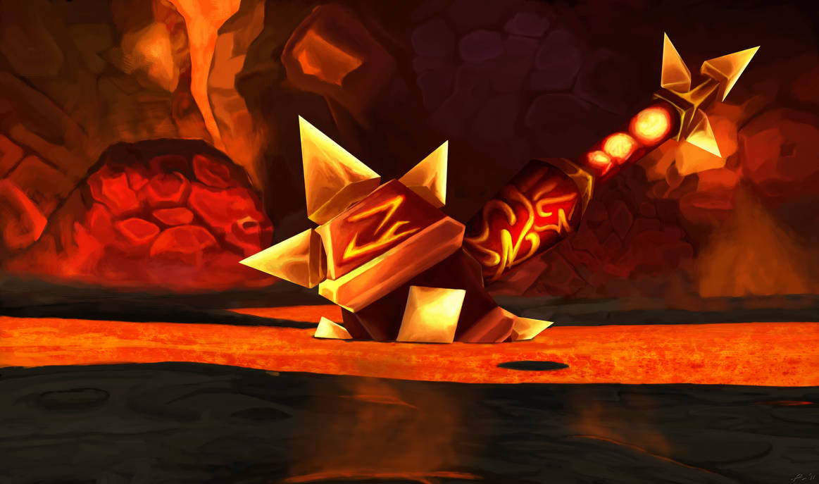 sulfuras__hand_of_ragnaros__wow_by_phil_