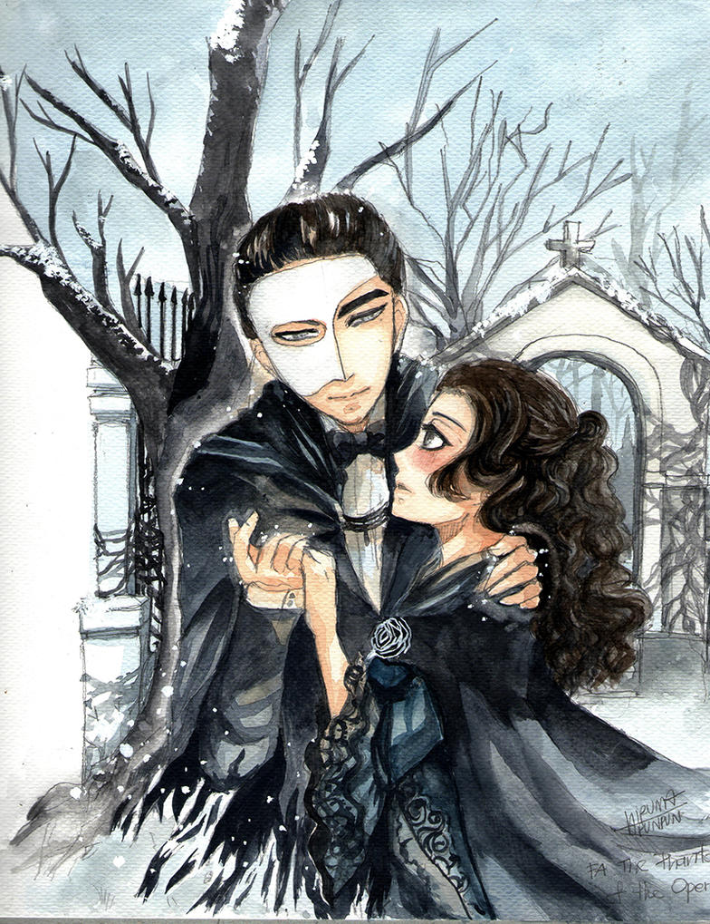 Fanart The Phantom of the Opera by punpunpun02