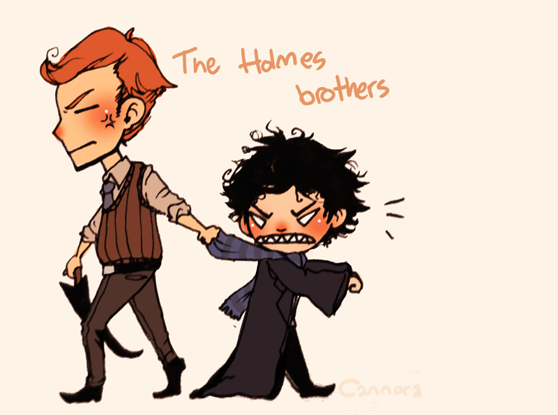 SH: The Holmes Brothers by cannorachan
