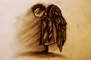 SPN: Castiel Angel 2 by cannorachan
