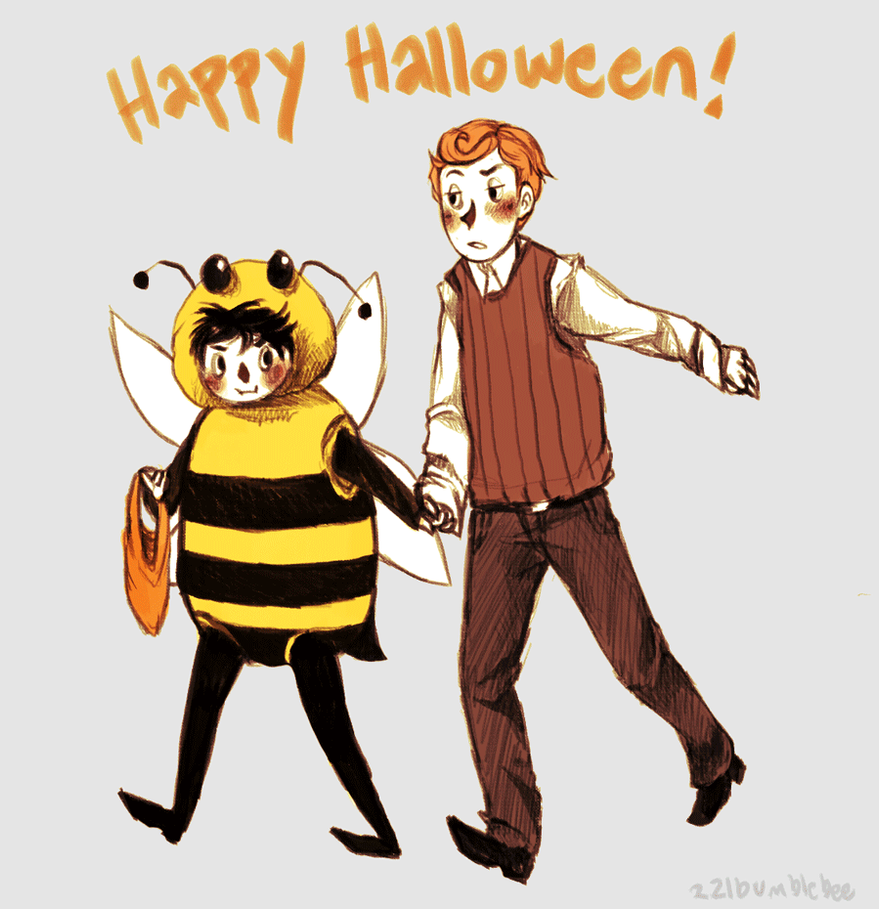 SH: Happy Halloween! by cannorachan