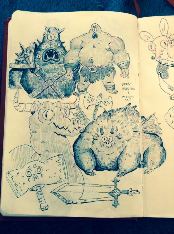Sketches by Ivanobich