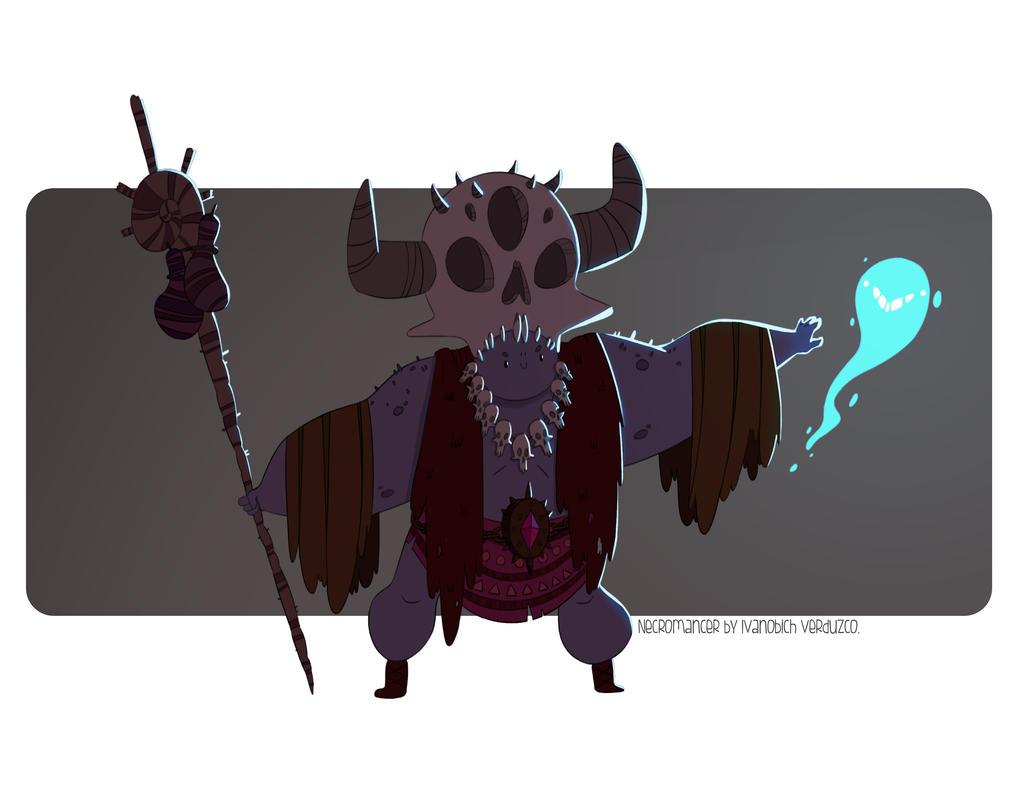 Necromancer by Ivanobich