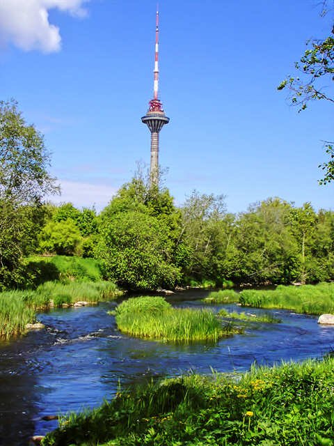 Television tower in Tallinn by reaktor2k