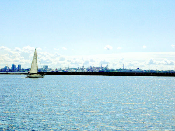 Lonely boat by reaktor2k