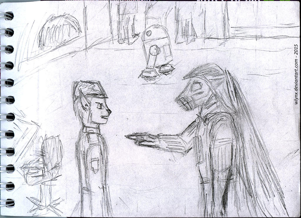 Star Wars related doodle