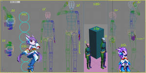 My learning of 3ds MAX - some character analysis