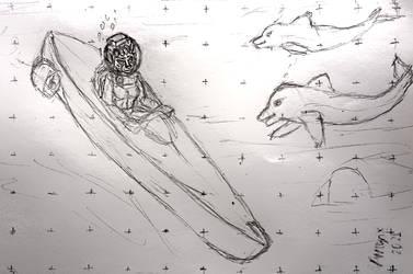OC Jayrin, submarine, dolphins