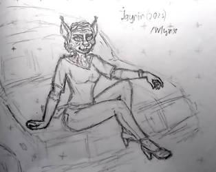 OC Jayrin doodle May 2021