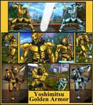 Yoshimitsu Golden Armor