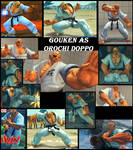 Gouken As Orochi doppo (Baki the grappler)