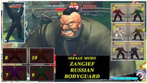 Zangief Russian bodyguard