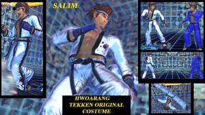 hwoarang tekken original costume