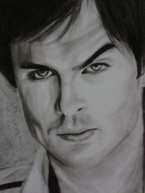 Ian Somerhalder by doodlingsketch
