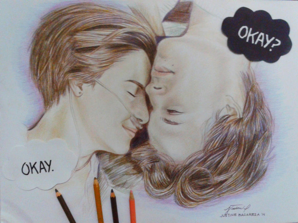 The Fault in Our Stars by doodlingsketch