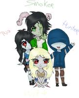 A Little Team | L4D by Kiumii