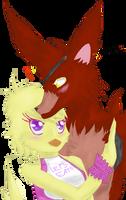 Foxica   FNAF -Gift by Kiumii