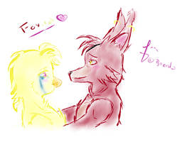 Foxica (Test)   FNAF by Kiumii